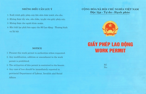 Công ty làm giấy phép lao động tại TP. Hồ Chí Minh